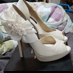Ivory Nina heels
